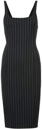 Alexander Wang pinstripe sheath dress