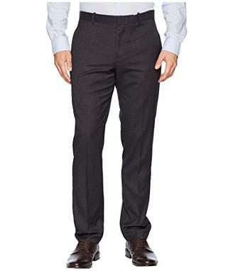 Perry Ellis Men's Slim Fit Washable Plaid Suit Pant