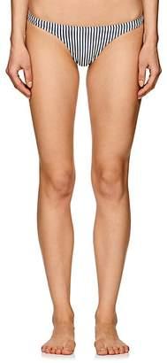 Suboo Women's Striped Seersucker Bikini Bottom