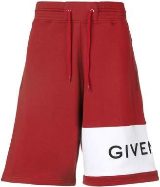 Givenchy logo shorts
