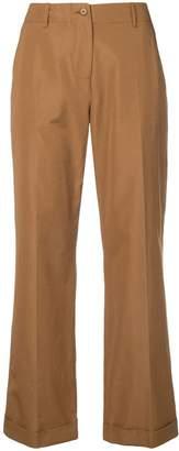 Aspesi cropped straight-leg trousers