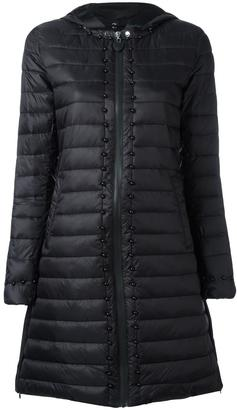Twin-Set padded hooded coat $262.76 thestylecure.com