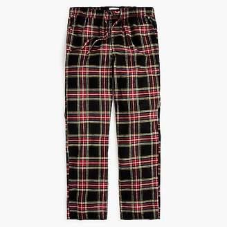 J.Crew Flannel pajama pant in Stewart tartan