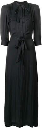 Zadig & Voltaire long belted shirt dress