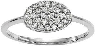 Dainty Designs 14K 1/5 cttw Diamond Oval Ring