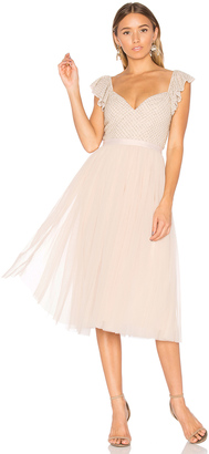Needle & Thread Swan Dress $279 thestylecure.com