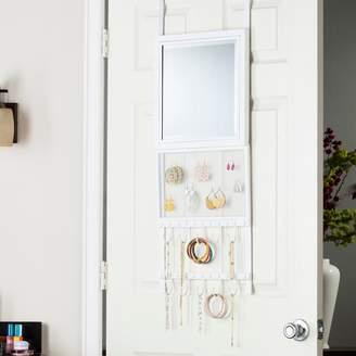 Karisse Over-the-Door Jewelry Storage & Mirror