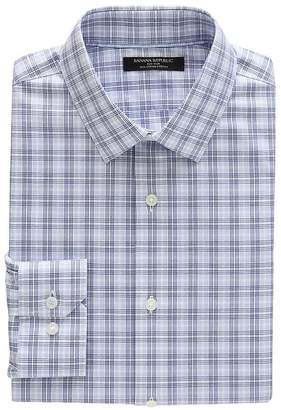 Banana Republic Grant Slim-Fit Non-Iron Check Shirt