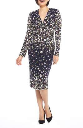 Maggy London Print Scuba Dress