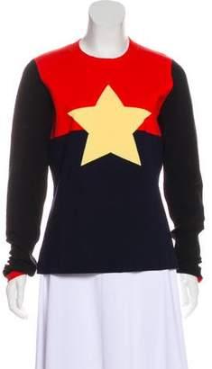 Diane von Furstenberg Merino Wool Star Sweater w/ Tags