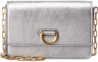 d50f739fb41d Burberry D-Ring Mini Leather Wallet On Chain