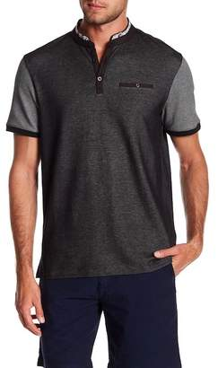 English Laundry Birdseye Band Polo Shirt