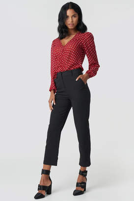 NA-KD Na Kd Straight Cropped Suit Pants