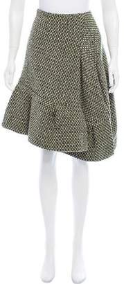 Marni Wool Tweed Skirt