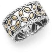 John Hardy Kawung 18K Yellow Gold & Sterling Silver Ring