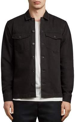 AllSaints Encamp Regular Fit Button-Down Shirt