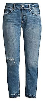 Polo Ralph Lauren Women's Ripped Boyfriend Jeans