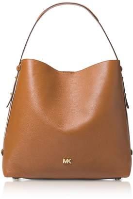 Michael Kors Griffin Large Leather Shoulder Bag