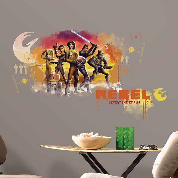 Roommates Star Wars Rebels Wall Decals