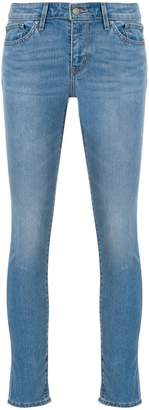 Levi's skinny cropped jeans