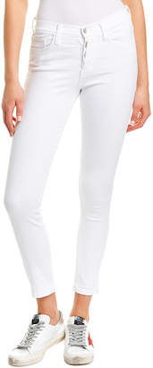Flying Monkey White Ankle Skinny Leg