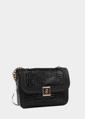 Versace New Icon Patent Handbag