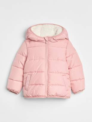 Gap ColdControl Max Sherpa Puffer Jacket