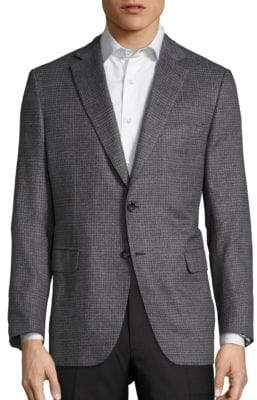 Brioni Checked Wool Sportscoat