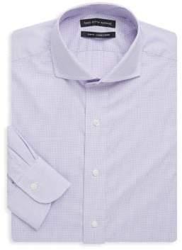 Saks Fifth Avenue Slim-Fit Gingham Cotton Dress Shirt