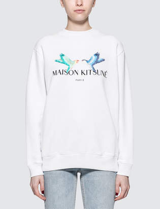 MAISON KITSUNÉ Lovebirds Sweatshirt