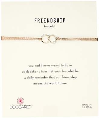Dogeared Friendship Double-Linked Adjustable Closure Bracelet