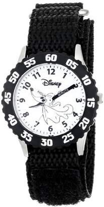 Disney Kids' W000451 Zero Stainless Steel Time Teacher Bezel Velcro Strap Watch