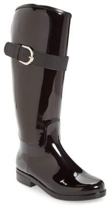 dav 'Bristol' Weatherproof Knee High Rain Boot