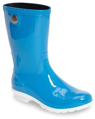 UGG Sienna Genuine Shearling Lined Waterproof Rain Boot