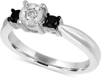 Macy's Diamond Ring (1/3 ct. t.w.) in Sterling Silver