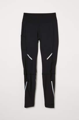 H&M Winter Running Tights - Black