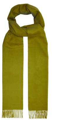 Bottega Veneta Cashmere Scarf - Womens - Green