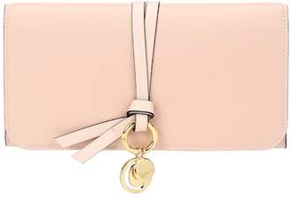Chloé Alphabet Long leather wallet