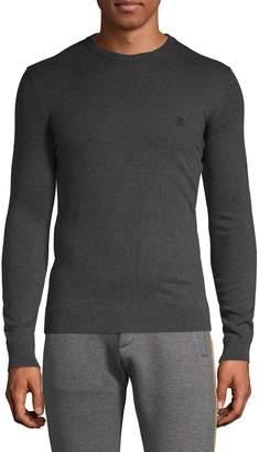 Roberto Cavalli Logo Embroidery Cotton Sweater