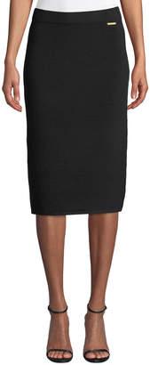 MICHAEL Michael Kors Pull-On Ottoman Pencil Skirt