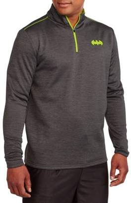 Super Heroes Big Men's 1/4 Zip Jacket, 2XL