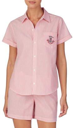 Lauren Ralph Lauren Stripe Short Pajamas