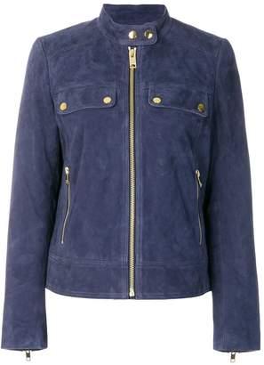 MICHAEL Michael Kors zipped suede jacket