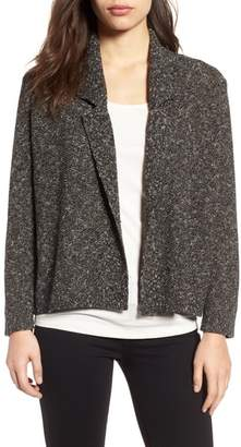 Eileen Fisher Tweed Sweater Jacket