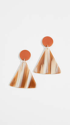 Bianca Mavrick Chip Earrings