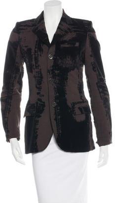 Jean Paul Gaultier Wool Notch-Lapel Blazer $145 thestylecure.com