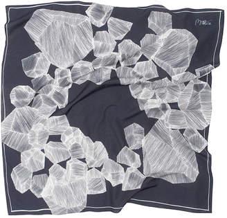 Baltica Foulards Rae Silk Cotton Scarf
