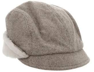 Eugenia Kim Wool Shearling Hat
