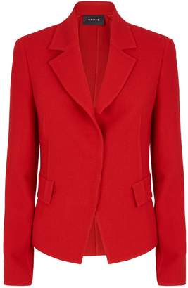 Akris Aada Cut Lapel Blazer