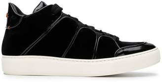 Ermenegildo Zegna Couture futuristic shaped sneakers
